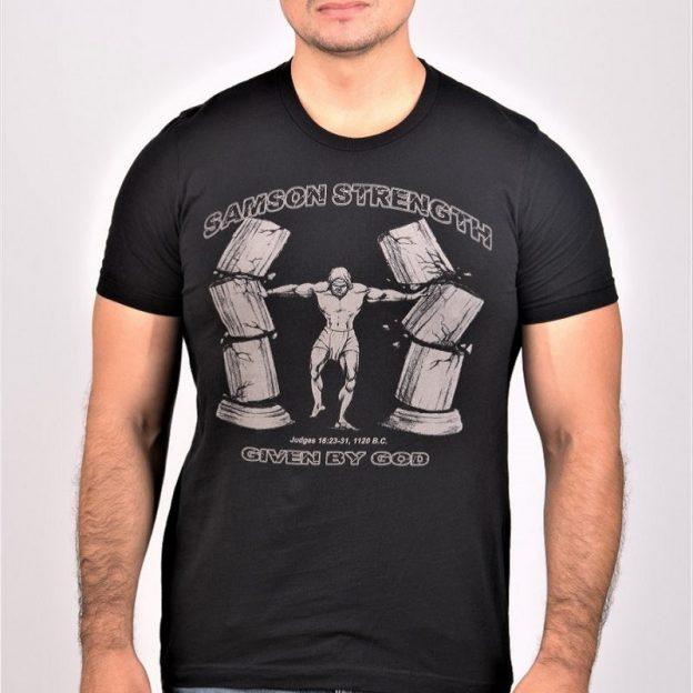 Samson Strength T-Shirt. Unctionclothing.com