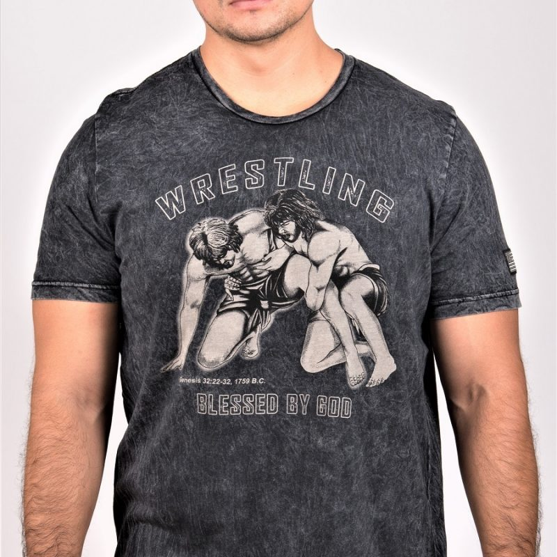 Jacob Wrestling Angel T-Shirt. Unctionclothing.com