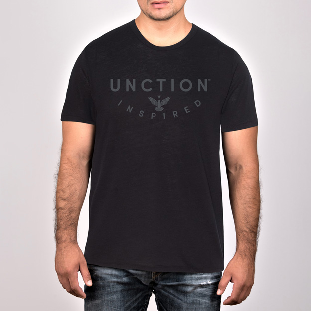 Black Jersey T-Shirt. Unctionclothing.com