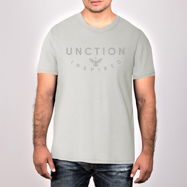 Silver Jersey T-Shirt. Unctionclothing.com